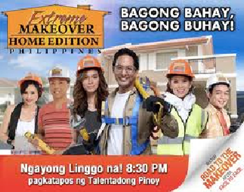 Chose Hcg For Extreme Makeover Home Edition Philippines Emhe