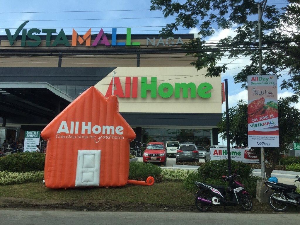 AllHome Naga is located at Maharlika Hghway, Rosario, Naga City, Camarines Sur.