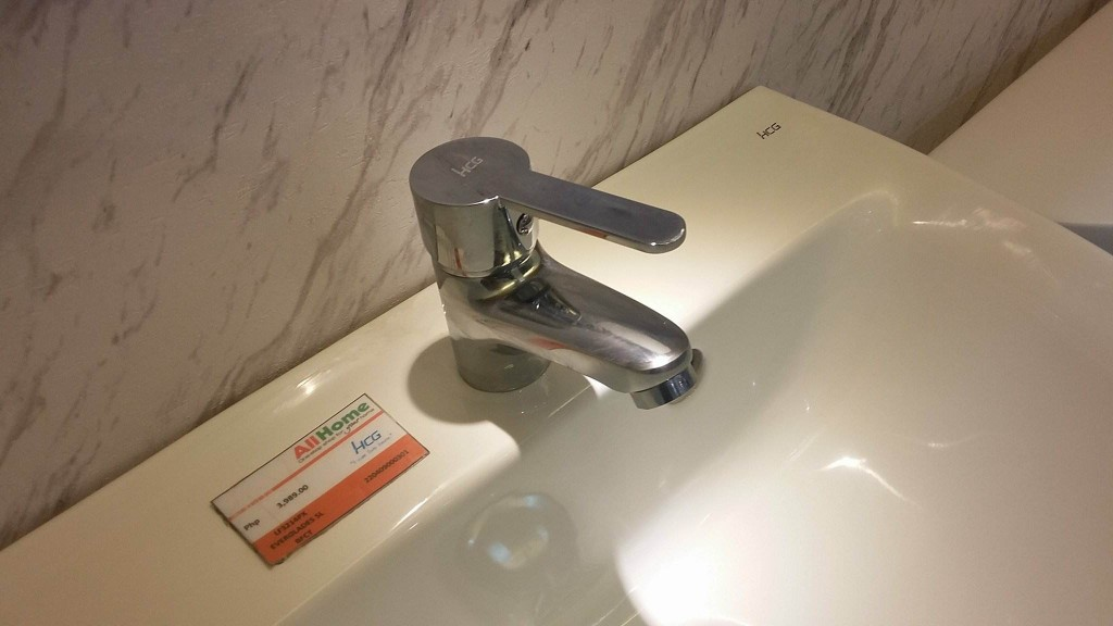 One of our classic and best-selling faucets, Everglades, can be found in HCG's showroom.