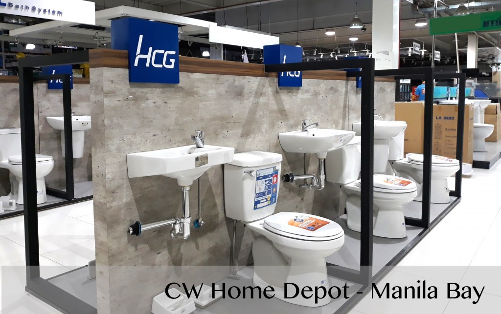 HCG renovates showroom in CW Manila Bay. Now more collections of toilet, lavatory, and accessory are available here.