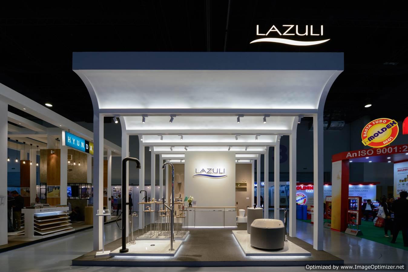 Lazuli booth at CONEX 2018