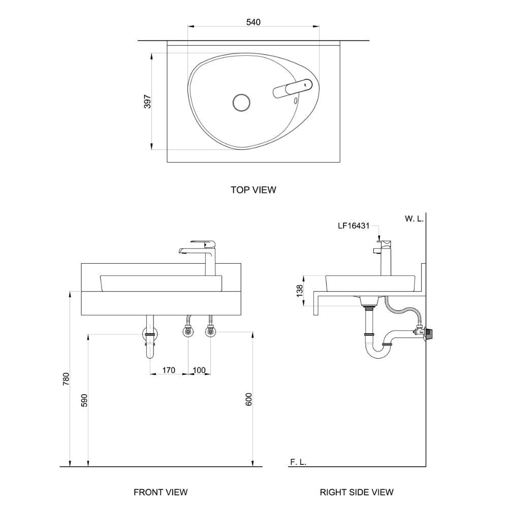 Xeno L11 technical drawing